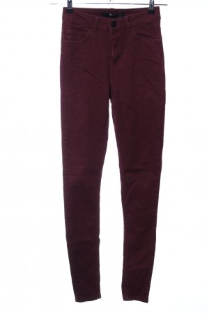 Just Female Jeans skinny rosso stile casual