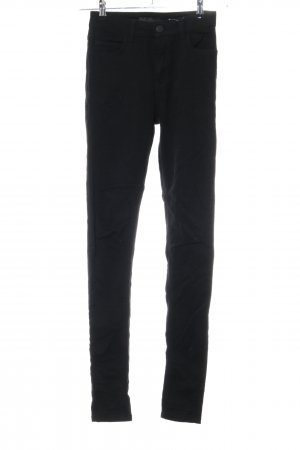 Just Female Jeans skinny nero Tessuto misto