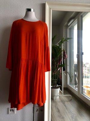 JUST female Sommerkleid in neonorange - Größe S NEU