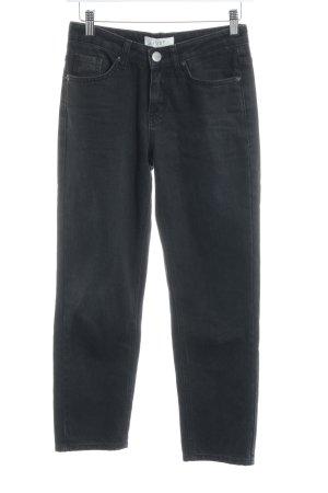 Just Female Straight-Leg Jeans dunkelgrau-anthrazit Casual-Look
