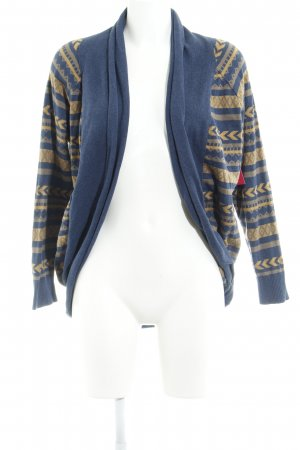 Just Female Strickjacke abstraktes Muster Casual-Look