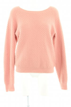 Just Female Strickpullover lachs Webmuster Casual-Look