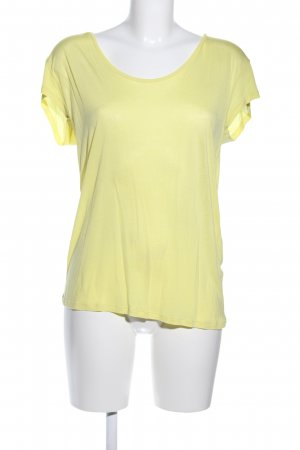 Just Female T-Shirt blassgelb Casual-Look