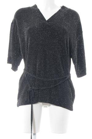 Just Female V-Ausschnitt-Shirt schwarz Elegant