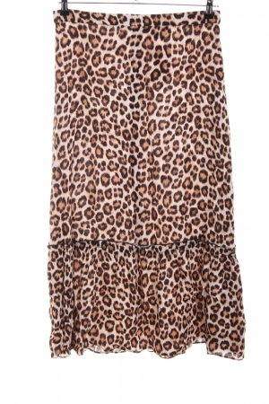 Just Female Gonna a balze Stampa leopardata stile casual