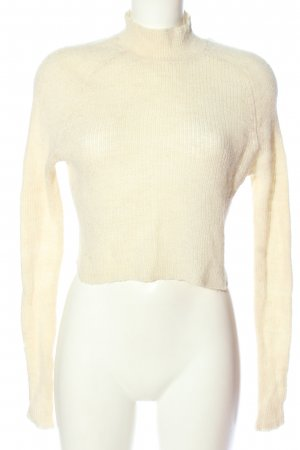 Just Female Wollpullover creme Casual-Look
