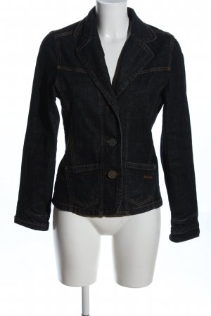 Just for you Jeansjacke schwarz Casual-Look
