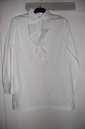 Just for you Blouse à volants blanc coton