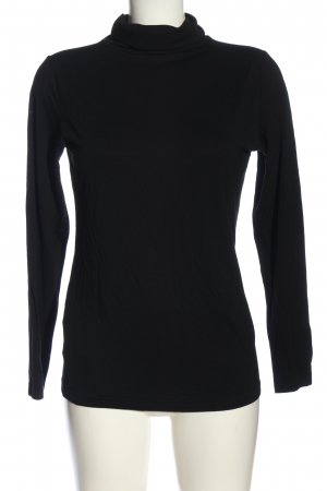 Just for you Turtleneck Shirt black casual look