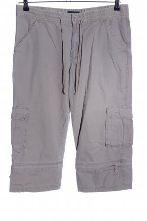 Just Jeans Cargohose hellgrau Casual-Look