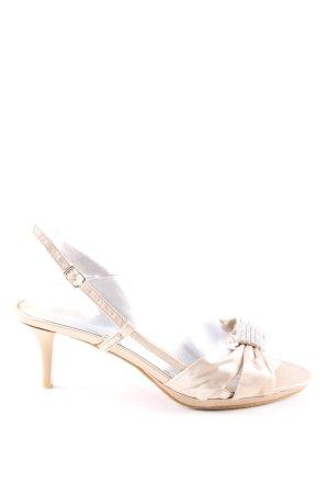 Just Lili Riemchen-Sandaletten creme Elegant