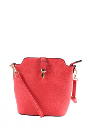 Just Lili Schultertasche rot Business-Look