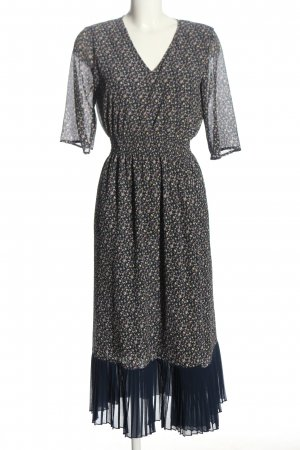 Just Maxikleid Allover-Druck Casual-Look