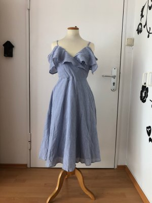 Just me, Sommerkleid, blau, Gr L, neu