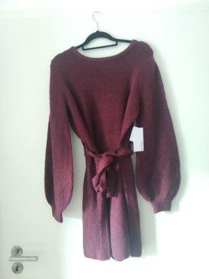 JustFab Knitted Dress purple
