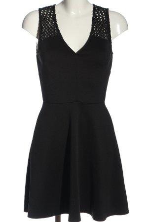 JustFab A-Linien Kleid schwarz Elegant