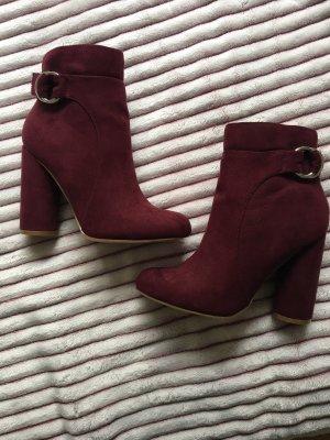 Justfab Ankle Boots Bordeaux 36