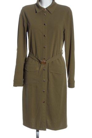 JustFab Hemdblusenkleid bronzefarben Casual-Look