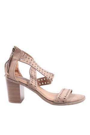 JustFab High Heel Sandaletten pink Casual-Look