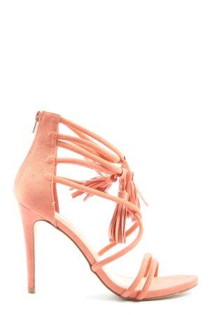 JustFab High Heel Sandaletten nude Elegant