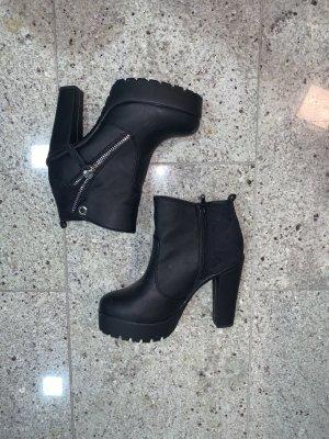 JUSTFAB High Heel Stiefelette - schwarz