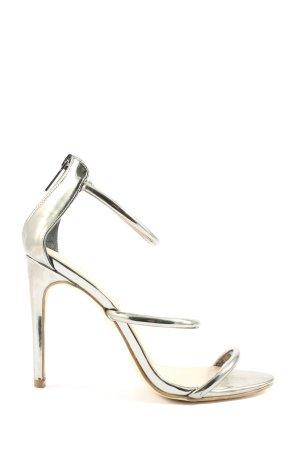 JustFab High Heels goldfarben Casual-Look