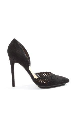 JustFab High Heels schwarz Elegant