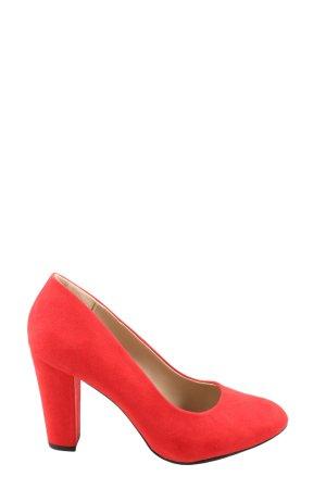 JustFab High Heels rot Casual-Look