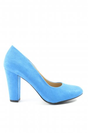 JustFab High-Front Pumps blue casual look