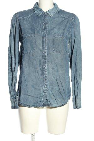 JustFab Denim Shirt blue casual look