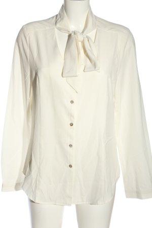 JustFab Long Sleeve Shirt white business style