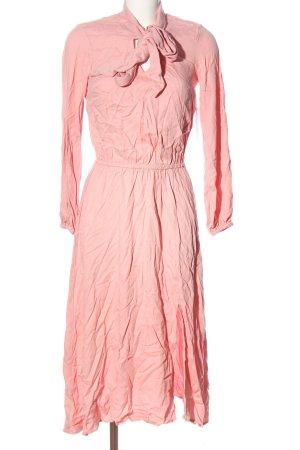 JustFab Langarmkleid pink Casual-Look