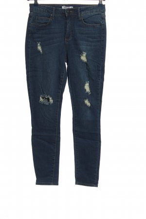 JustFab Tube Jeans blue casual look