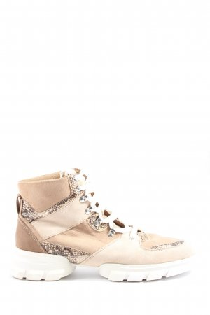 JustFab Schnürsneaker Animalmuster Casual-Look