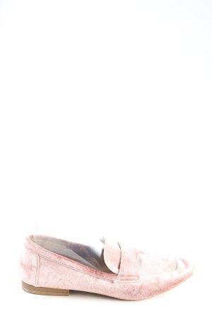 JustFab Zapatos formales sin cordones rosa look casual
