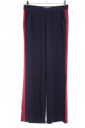 JustFab Stoffhose blau Casual-Look