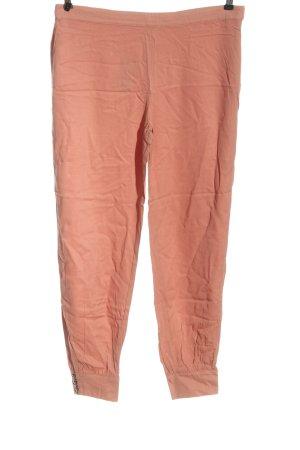 JustFab Jersey Pants light orange casual look