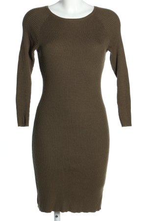 JustFab Stretch Dress khaki casual look