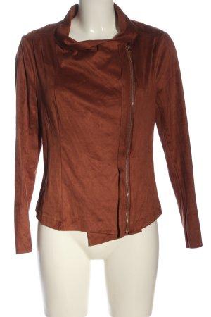 JustFab Between-Seasons Jacket brown casual look