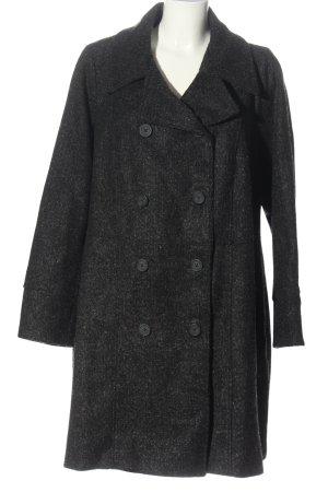 JustFab Between-Seasons-Coat light grey flecked classic style