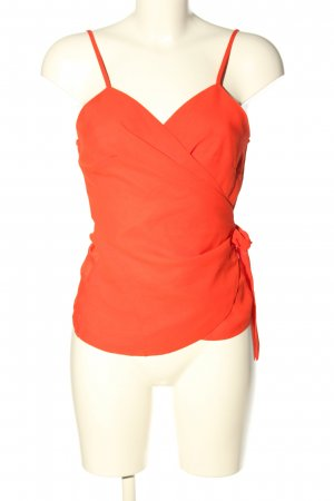 JustFab Wikkelblouse rood casual uitstraling