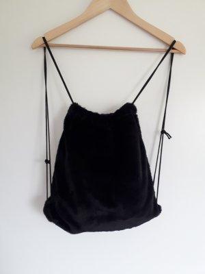 Burlap Bag black
