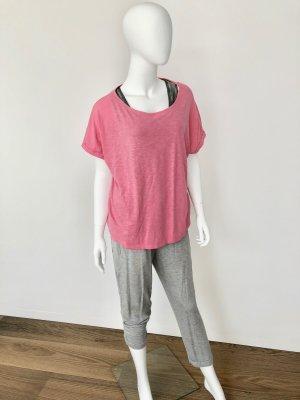 Juvia- Basic- Shirt/T-Shirt-lachsfarben-Gr. S-top Zustand!