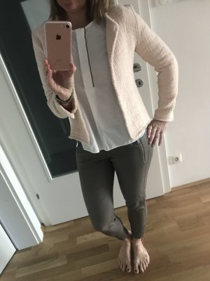 Juvia Tweed Blazer pink cotton