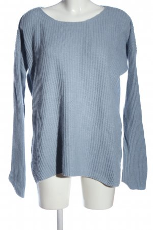 Juvia Pullover in cashmere blu stile casual