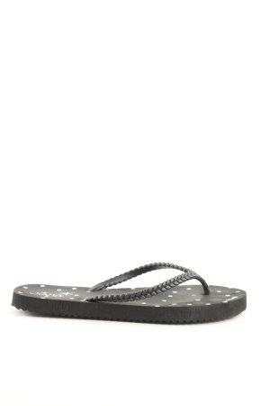 Juvia Flip Flop Sandalen schwarz Casual-Look