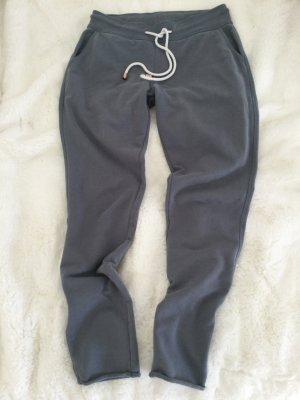 Juvia Sweat Pants slate-gray cotton