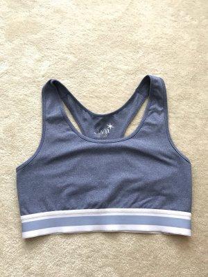 Juvia Sports Shirt azure-white