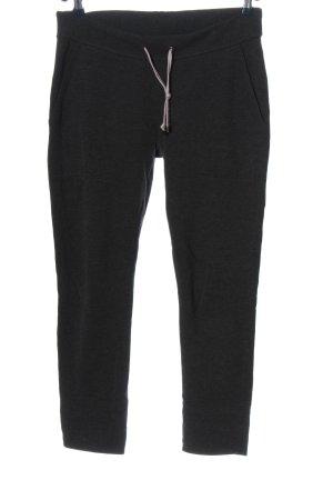 Juvia Pantalon de jogging noir style décontracté