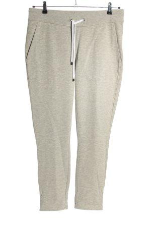 Juvia Pantalón deportivo gris claro moteado look casual